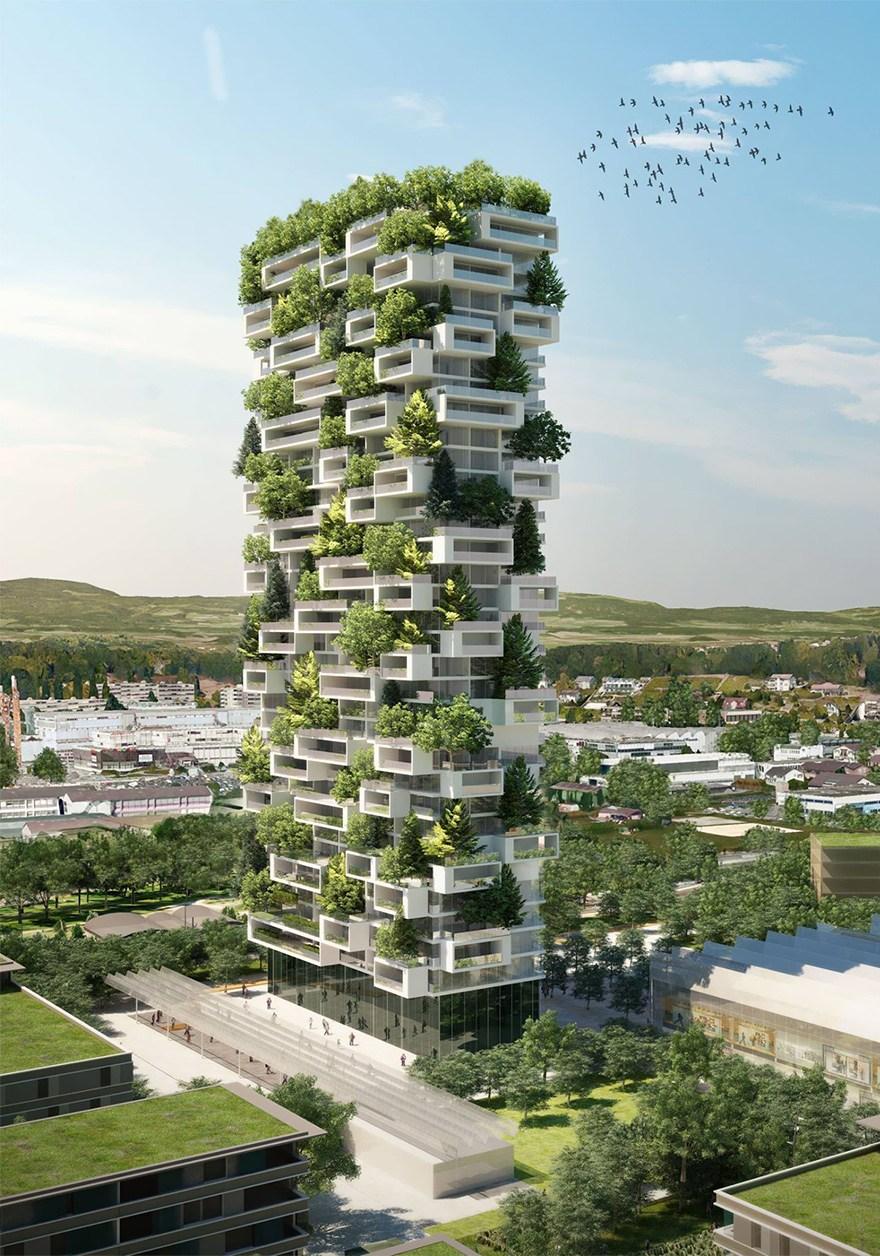 Milānā jau ir uzbūvēti divi vertikālie meži, ko izstrādājis Stefano