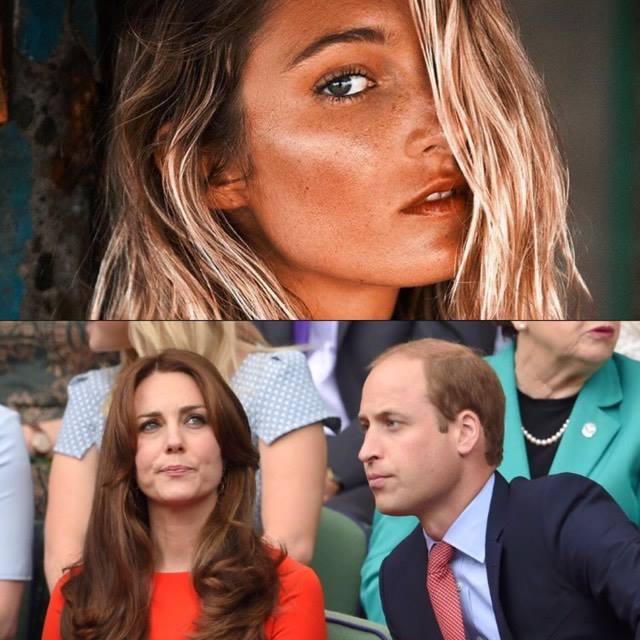 Keitas Midltones un prinča Viljama attiecības valda nesaskaņas, vaino kādu modeli