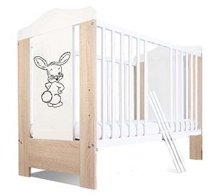 Brīdina par bērniem bīstamu gultiņu