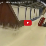 """VIDEO: Jauno kamaniņu sportistu treniņi Siguldā- """"Bez sāpēm nav uzvaru"""""""